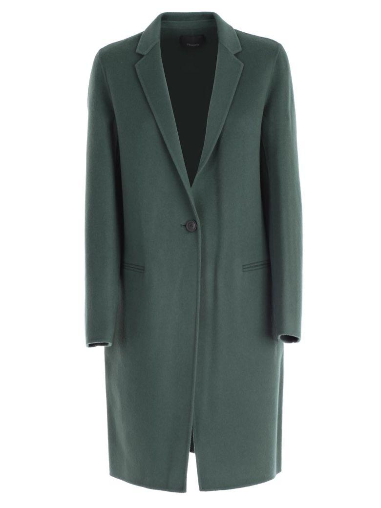 Theory Coat In Green