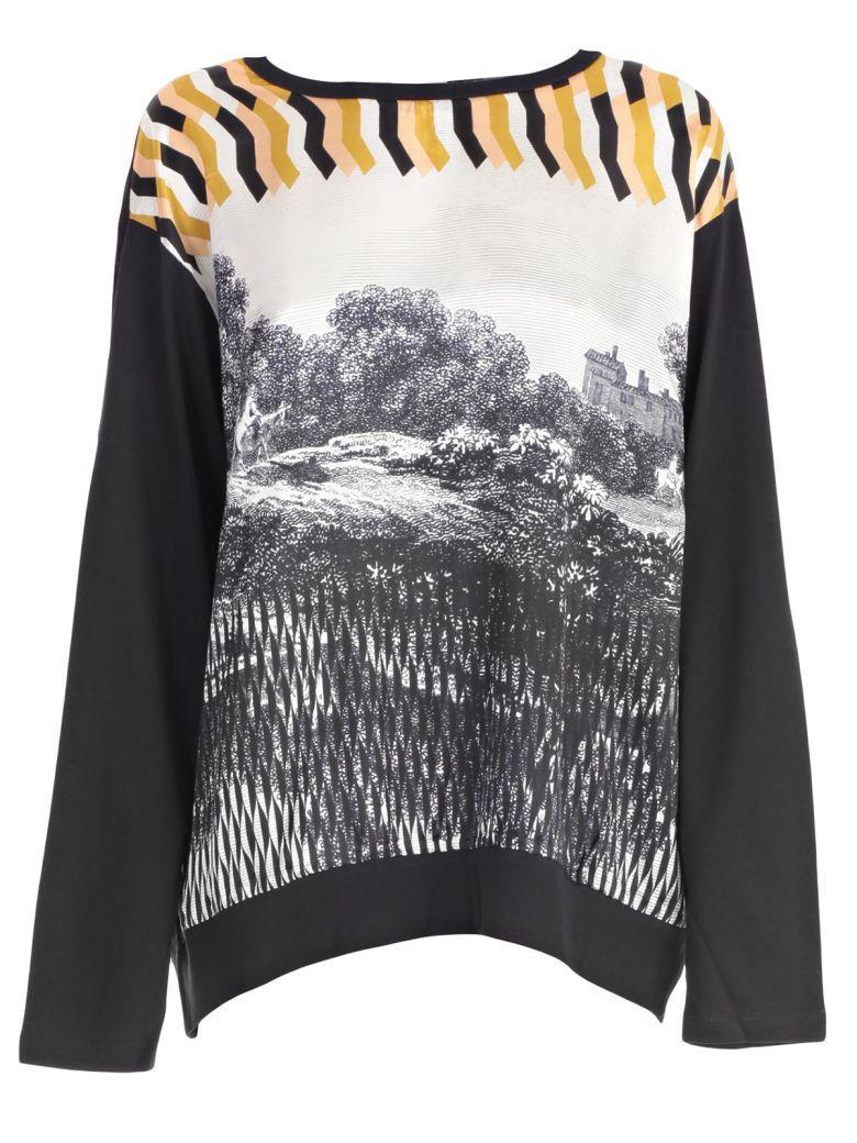 Dries Van Noten Harmes Sweatshirt In Multicolour