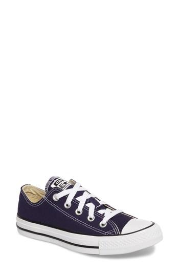 Converse Chuck Taylor All Star Seasonal Ox Low Top Sneaker In Midnight