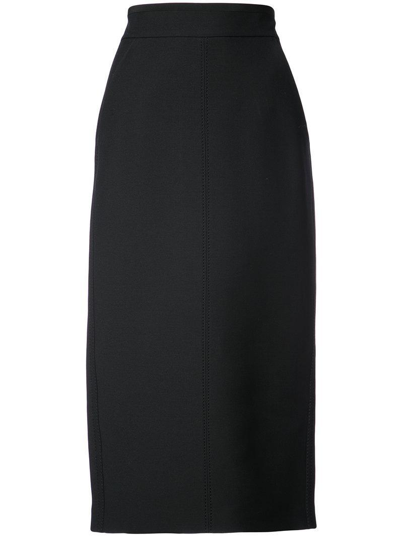 Fendi Fitted Midi Skirt