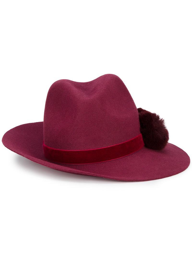 Yosuzi Valentina Hat In Red