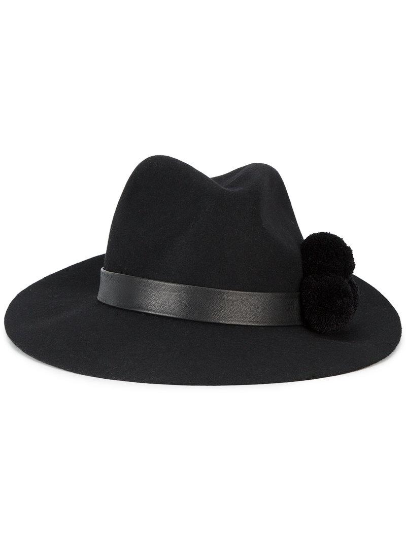 Yosuzi Malise Hat In Black