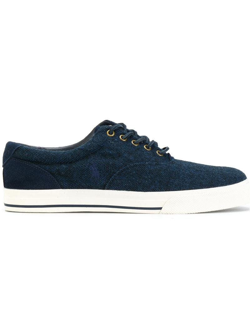 Polo Ralph Lauren Contrast Sneakers