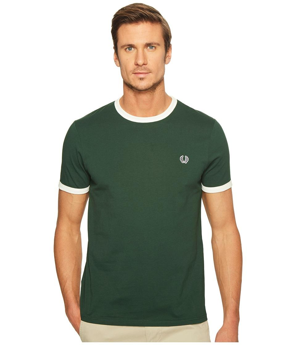 Fred Perry - Ringer T-shirt (ivy/green) Men's T Shirt