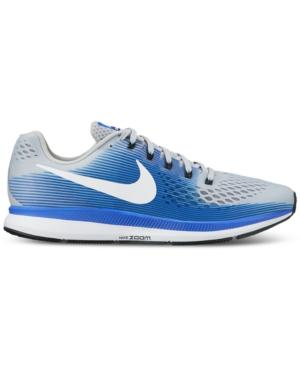 92d11f36aeccf Nike Men s Air Zoom Pegasus 34 Wide Width (4E) Running Sneakers From Finish  Line
