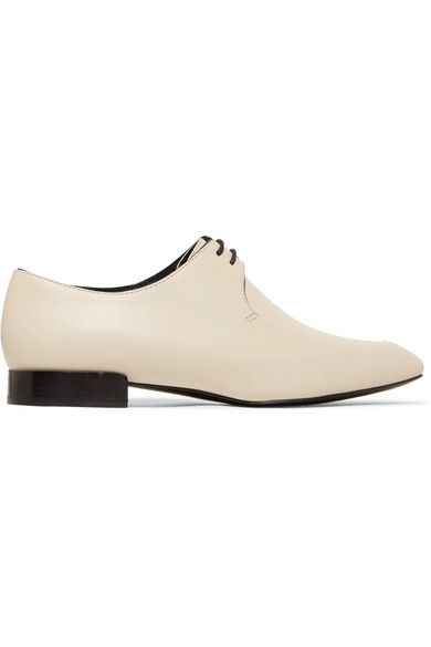a4c8a9688ffa 3.1 Phillip Lim Louie Leather Dress Shoes In White