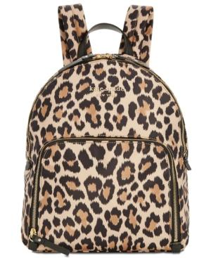 Kate Spade Watson Lane - Hartley Leopard Print Backpack - Brown In Multi