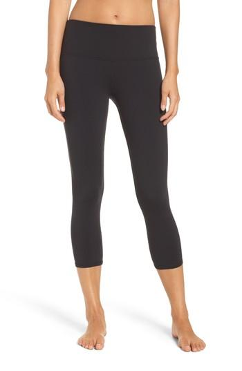 29fa3b7752dc8 Alo Yoga Dash High Waist Capris In Black | ModeSens