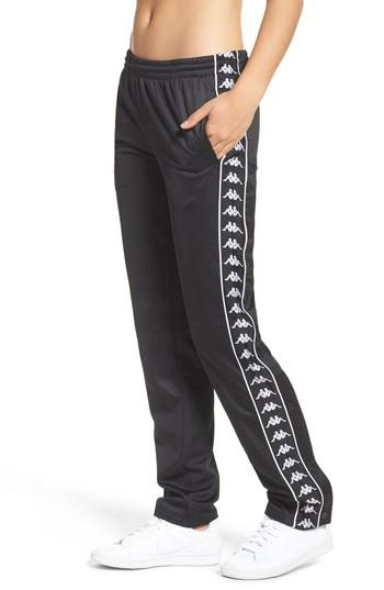 3a787b83df95 Kappa Authentic Wise Track Pants In Black