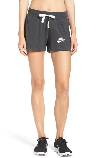 472ef8b5333d Nike Sportswear Gym Vintage Shorts In Black Sail