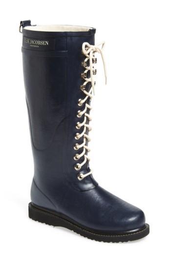 Ilse Jacobsen Rubber Boot In Dark Indigo