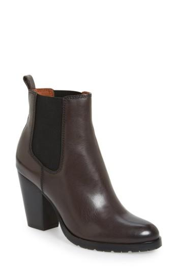 Frye 'tate' Chelsea Boot In Charcoal