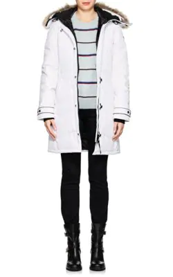 dc2bb5be803b Canada Goose  Lorette  Hooded Down Parka With Genuine Coyote Fur Trim ...
