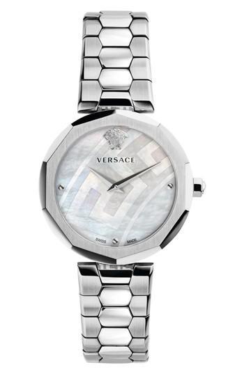 Versace Idyia Bracelet Watch, 36mm In Nocolor