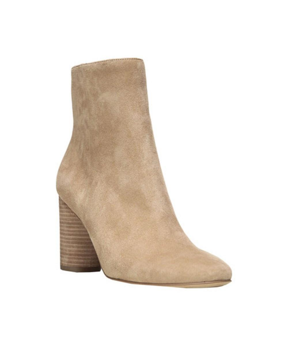 a7f760e8fbfab A round column heel provides a poised finish for this everyday bootie.  Style Name  Sam Edelman Corra Bootie (Women). Style Number  5373016.