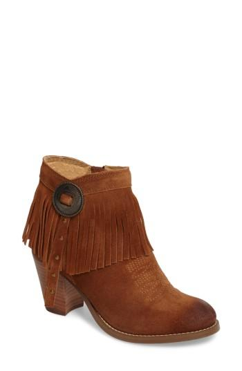 Ariat Unbridled Avery Bootie In Whiskey Suede