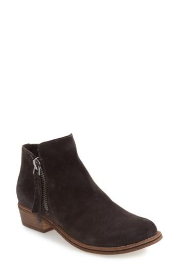 Dolce Vita 'sutton' Bootie In Anthracite Suede