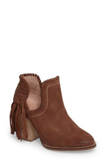 Ariat Unbridled Lily Bootie In Whiskey Suede