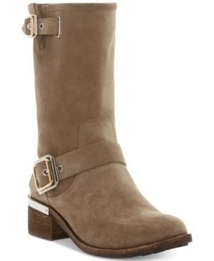 Vince Camuto Women's Windy Moto Boots Women's Shoes In Foxy