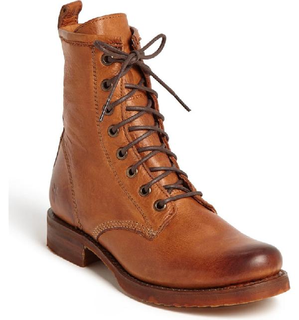 Frye 'veronica Combat' Boot In Whiskey