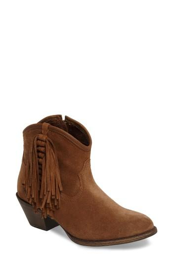 Ariat Duchess Western Boot In Dirty Tan Suede