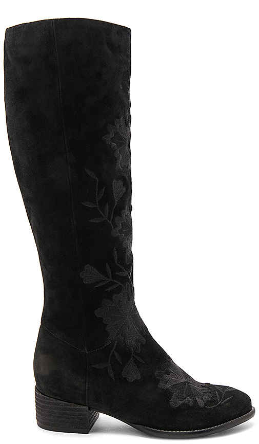 Seychelles Callback Embroidered Boot In Black