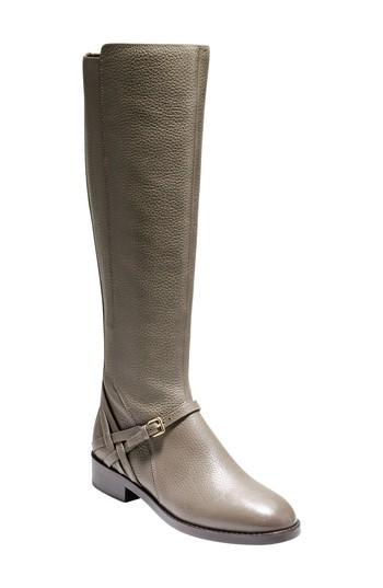 Cole Haan Pearlie Tall Boot In Morel Leather