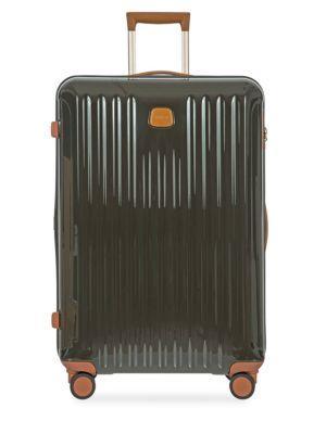 "Bric's Capri 27"" Spinner Suitcase In Olive"