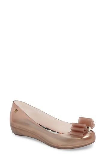 Melissa X Jason Wu Ultragirl Sweet Ballet Flat In Pink