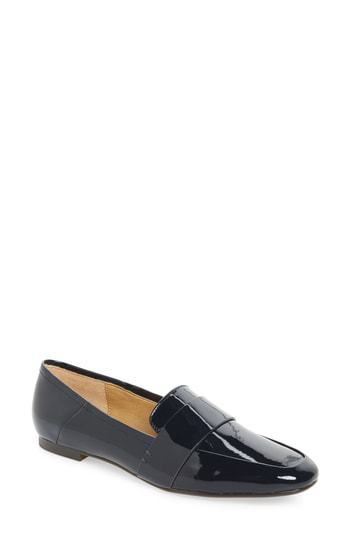 Splendid Women's Delta Patent Leather Loafers In Navy Patent