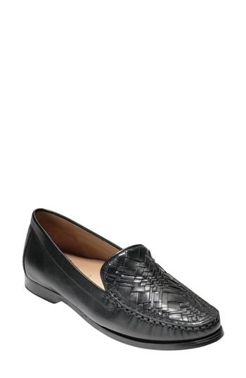 Cole Haan Pinch Genevieve Loafer In Black Leather
