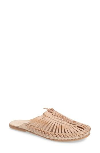 Matisse Morocco Woven Mule In Natural Leather