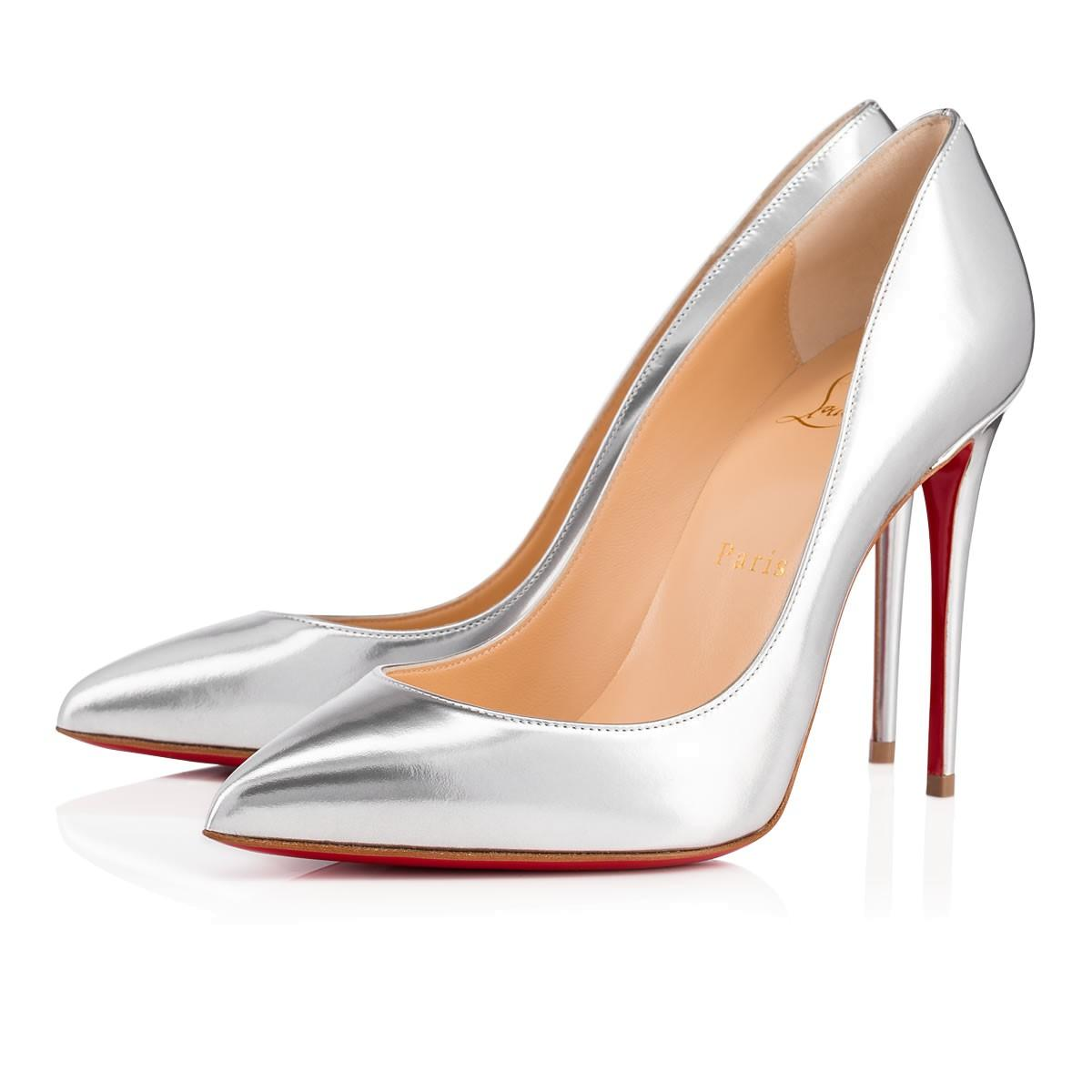 06495ad0a611 Christian Louboutin Pigalle Follies Pump In Silver
