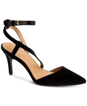 Calvin Klein Women's Ganya Pumps Women's Shoes In Black