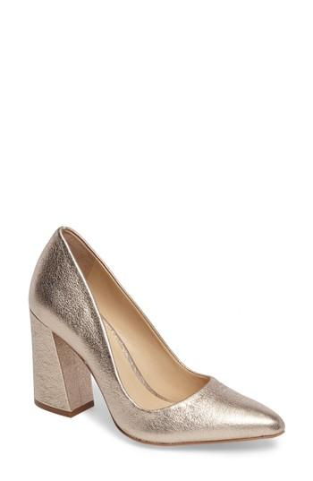 6ac79c9b53 Vince Camuto Talise Pointy Toe Pump In Champagne | ModeSens