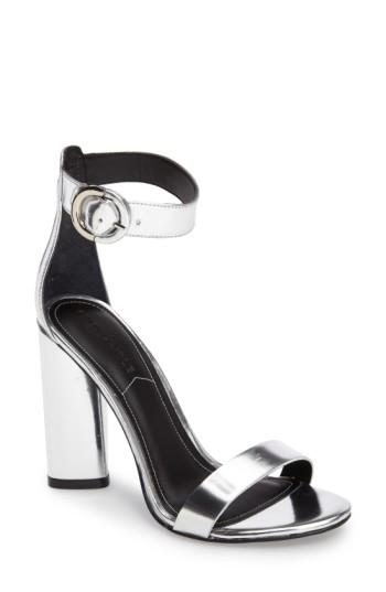 Kendall + Kylie Giselle Strappy Sandal In Silver
