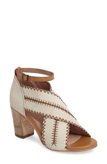 Seychelles Party Up Sandal In Off White Leather