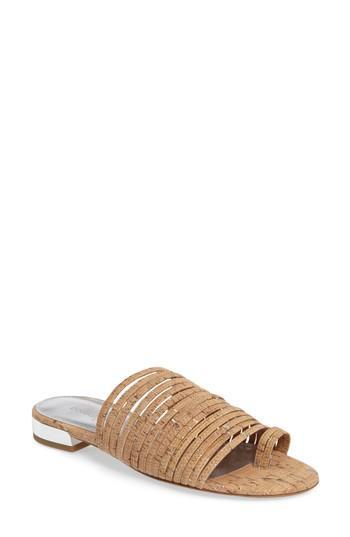 Donald J Pliner Frea Strappy Sandal In Natural Cork