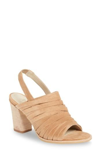 Matisse Mummy Slingback Sandal In Natural Suede