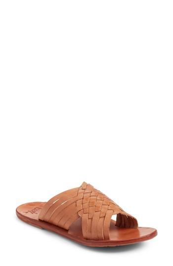 Beek Swallow Sandal In Tan/ Tan