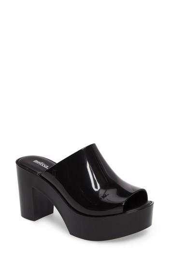 08a3e86bebda Melissa Open Toe Platform Mule In Black