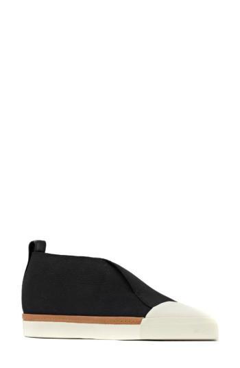 Mercedes Castillo Thana Slip-on Sneaker In Black/ Panna