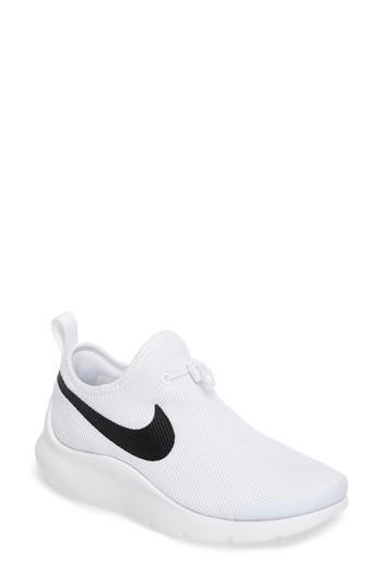 Nike Women's Aptare Casual Shoes, White In White/ Black/ White