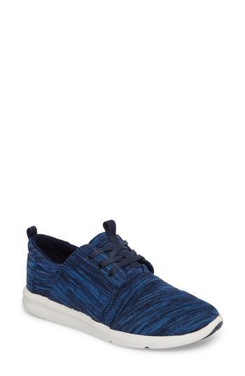 Toms 'del Ray' Sneaker In Medium Blue