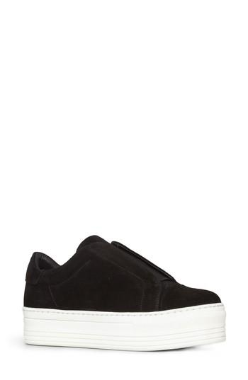 33212ce2d33 ALLSAINTS. Women s Aya Patent Leather Platform Slip-On Sneakers in Black