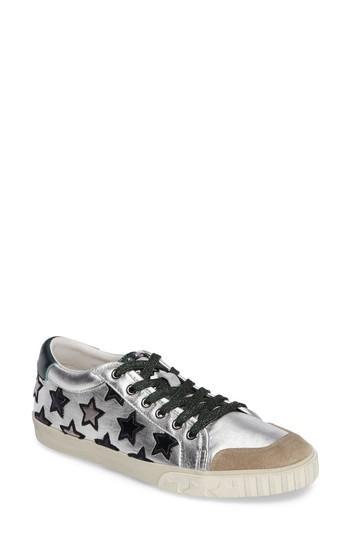 Ash Majestic Star Sneakers In Seta/ Silver/ Blade/ Emeraude