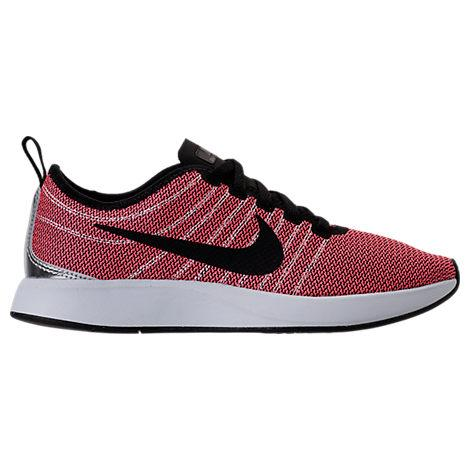 Nike Women's Dualtone Racer Casual Shoes, Red In Solar Red/ Black/ Light Brown