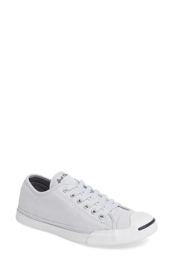 617425df7a85 Converse Jack Purcell Signature Ox Low Top Sneaker In Platinum ...