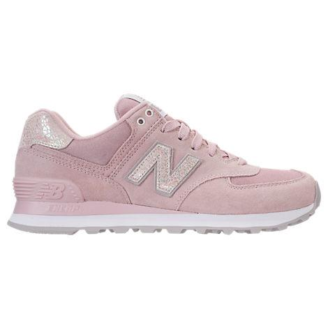 New Balance Women's 574 Shattered Pearl Casual Shoes, Pink In Faded Rose