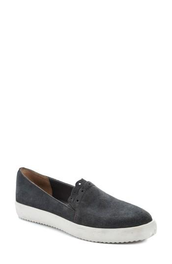 Latigo Roe Slip-on Sneaker In Stone Suede